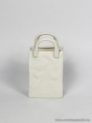 Porcelán táska 14 cm -es