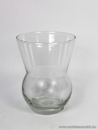 Orchidea üveg váza